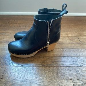 Swedish Hasbeen Emy Ankle Booties